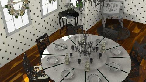 Nightmare on Elm Street - Dining Room - by DearDesigner