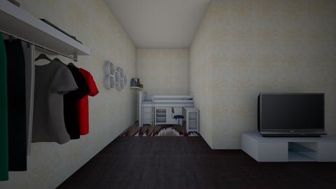 Cool Bed - Bedroom - by zkeebaugh27