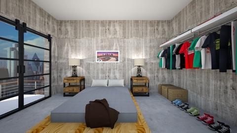Bare Necessities  - Bedroom - by SammyJPili