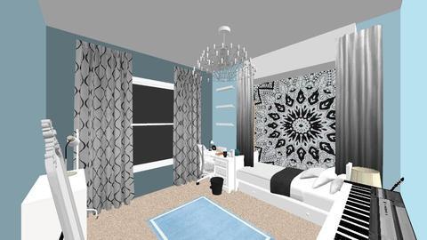 room plan - Bedroom - by BeckAsHeck