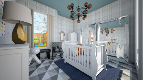 Nursery  - Glamour - Kids room - by mide93