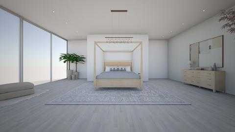 Minimalist bedroom - Bedroom - by EllaWinberg