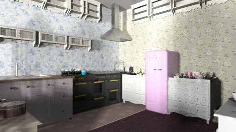 Tokyo Apartment Kitchen - Kitchen - by dailene