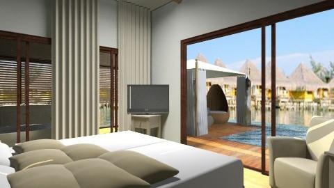 terrace - Modern - Bedroom - by tita