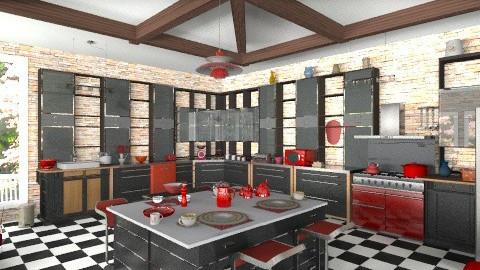Large kitchen - Modern - Kitchen - by milyca8