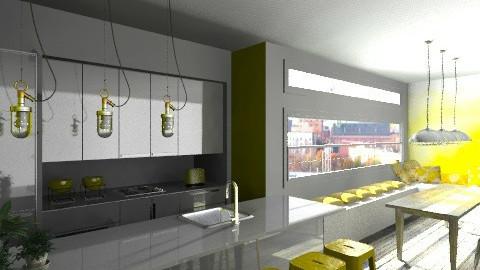 Lemon taste - Modern - Kitchen - by Giuiulai