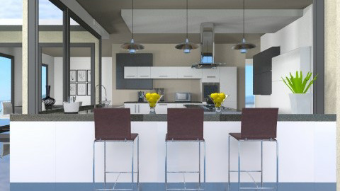 Dine In Dine Out - Modern - Kitchen - by channing4