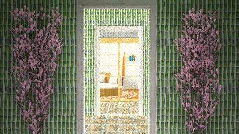 Endless entry - Minimal - Garden - by sacerdote