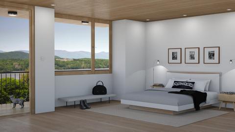 Simple Bedroom - Bedroom - by GraceKathryn