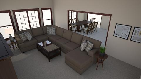 Dexter Family Room 3 - Living room - by kristenhandtke