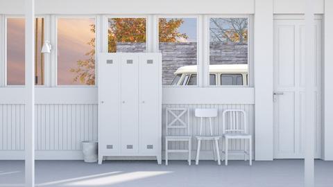 Factory Hallway - Minimal - Office - by HenkRetro1960