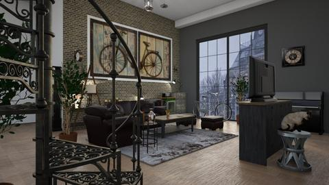 Bicycles - Living room - by ZuzanaDesign