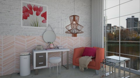 Modern Pink - Modern - Office - by bgref