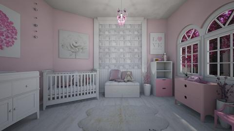 Pink Nursery  - Kids room - by stmaiorino
