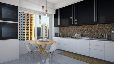 Coz 123 - Kitchen - by Roberta Coelho