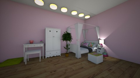 floras room - by peggypanda