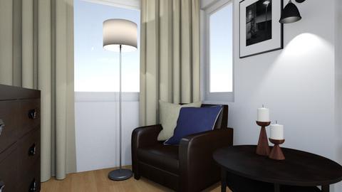 Sypialnia Jerrego 1 - Bedroom - by IwonaDabrowska