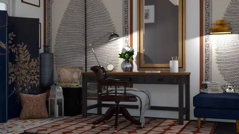 boho study - Office - by Ripley86