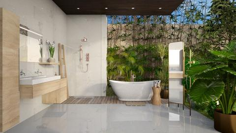 Outdoor Bath - Bathroom - by JennieT8623