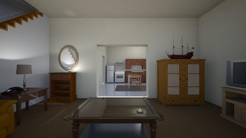 Small San Diego Home - Living room - by WestVirginiaRebel
