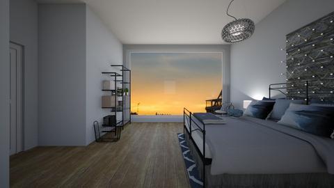City Night - Bedroom - by Carolina_meee