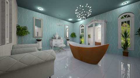 bath - Eclectic - Bathroom - by Bonnie Chappell