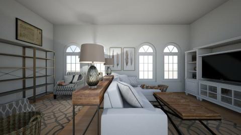 Petrillo family room - by RPetriello