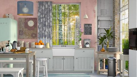 Good morning - Kitchen - by Mum Dali
