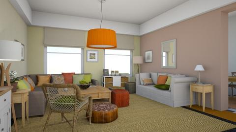 Orange Carpet - by lkem12345