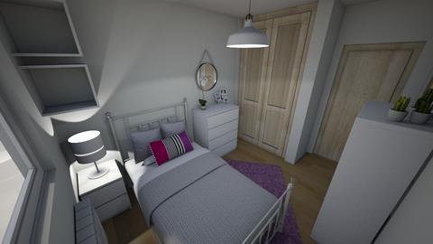Habitacion Nerea 2 - Feminine - Bedroom - by everybodyfeel