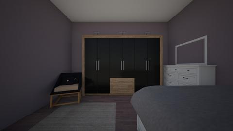 jae - Bedroom - by wrightj21
