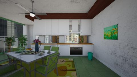Verde - Modern - Kitchen - by Tupiniquim