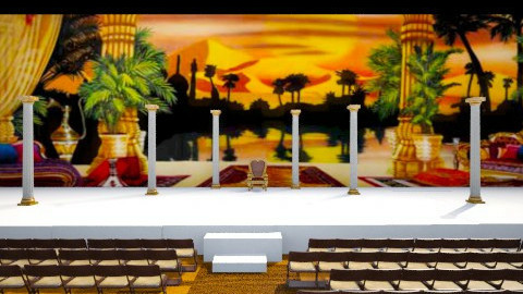 stage design - by Christmas Designs