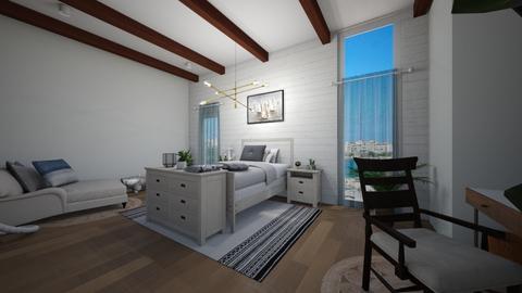Teenager beach bedroom - Bedroom - by racheycakes38