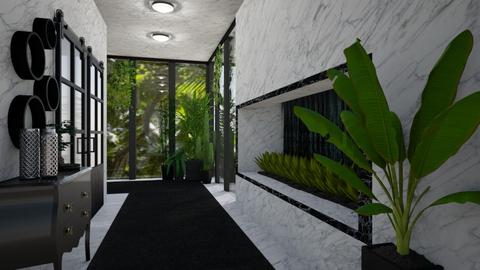 JUNGLE HALLWAY - by Miss MH
