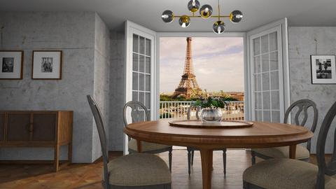 design - Classic - Dining room - by tolo13lolo
