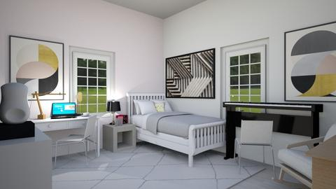 Bedroom_Makeover Remix - Classic - Bedroom - by Isaacarchitect