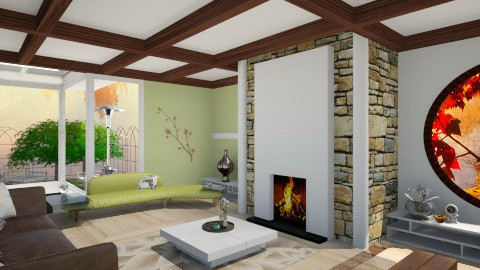 Living room ! - Retro - Living room - by xLauraa