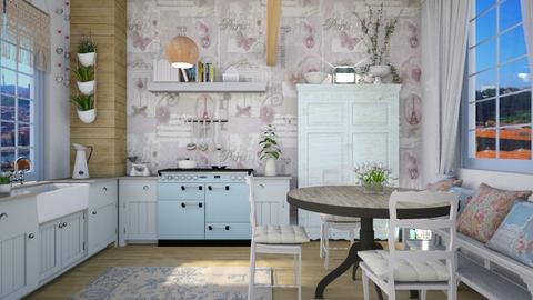 SHABBY CHIC KITCHEN - Kitchen - by rasty