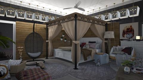 wood room - Bedroom - by Lydia3322