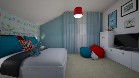 Marian attic 2 - Kids room - by Flori Santa