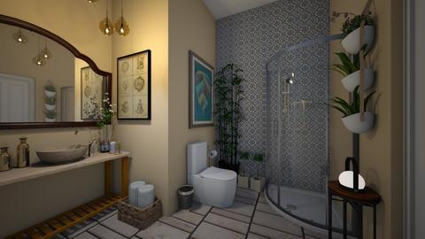 guest bathroom 84 - Bathroom - by GeGe Kanthip