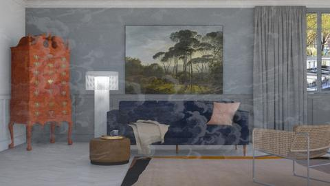 Behind glass walls - Modern - Living room - by HenkRetro1960