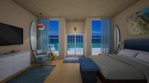 surf decor - Bedroom - by allday08