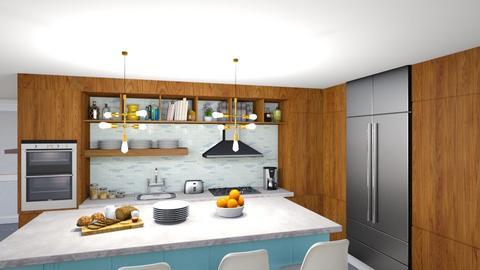 MCM kitchen 14 - by vee_la_ree