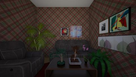 Granny Pattern - Living room - by XavAnoBoy