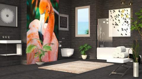 Flamingo - Bathroom - by millerfam