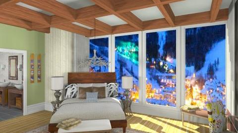 bedroom - Bedroom - by skiiergirl315