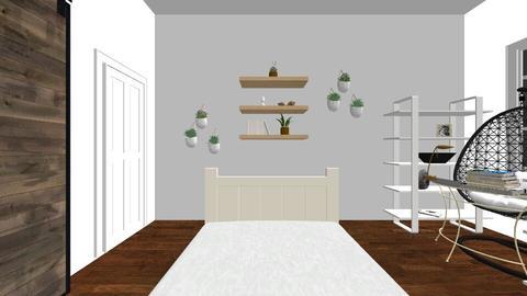 My Bedroom ReDesign  - Bedroom - by Kamryn R
