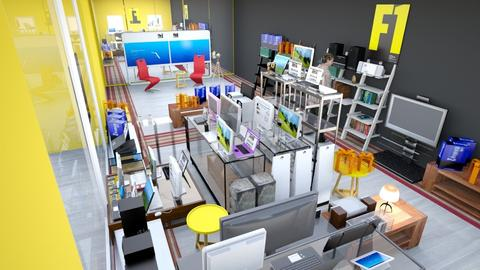 Computer store - Modern - Office - by deleted_1523869953_sonjavlatkovic